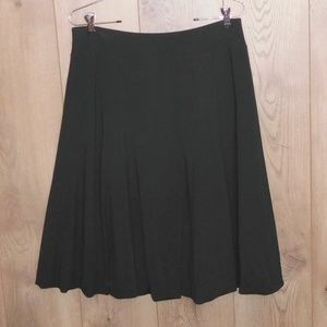 TALBOTS Rayon Jersey Bubble Skirt Size Medium
